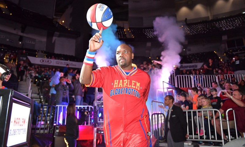 Harlem Globetrotters player photo
