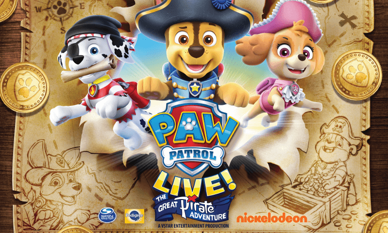 Illustration of dogs from Paw Patrol