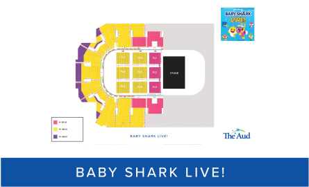 Baby Shark Live! Seating Map thumbnail image