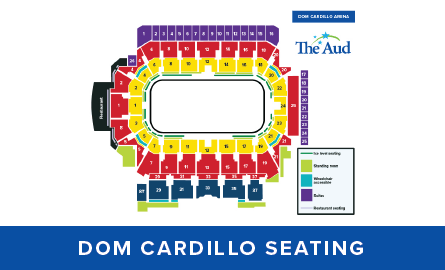 Dom Cardillo seating map