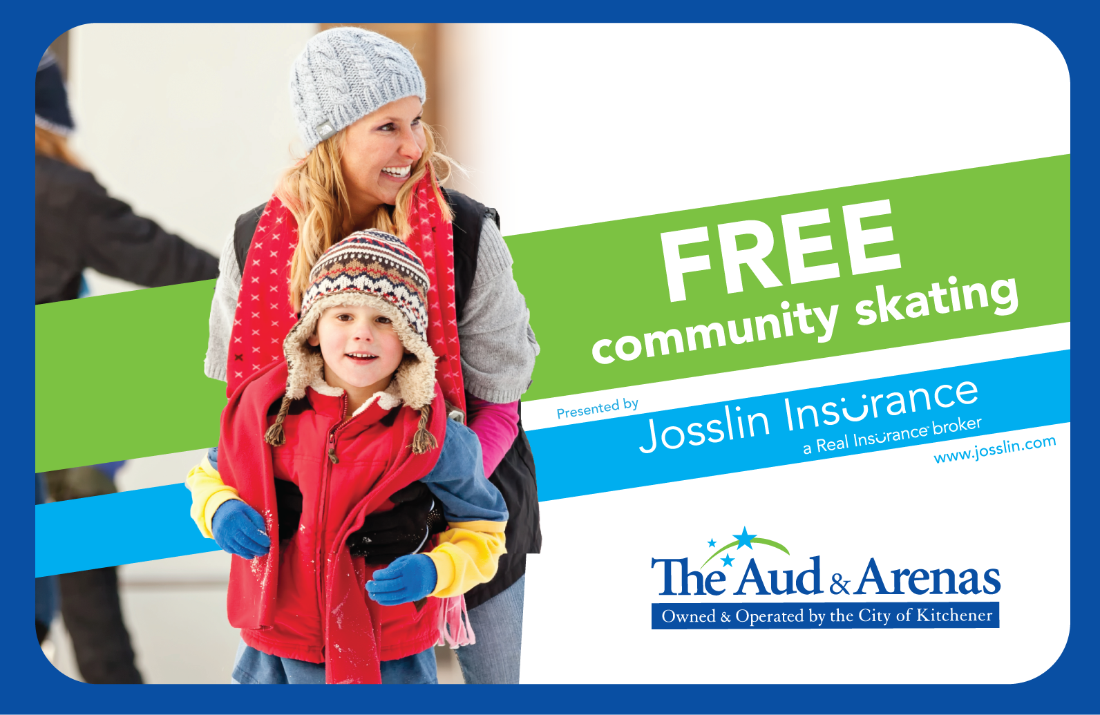 Free Community Skating at The Aud & Arenas presented by Josslin Insurance__mother and child skating