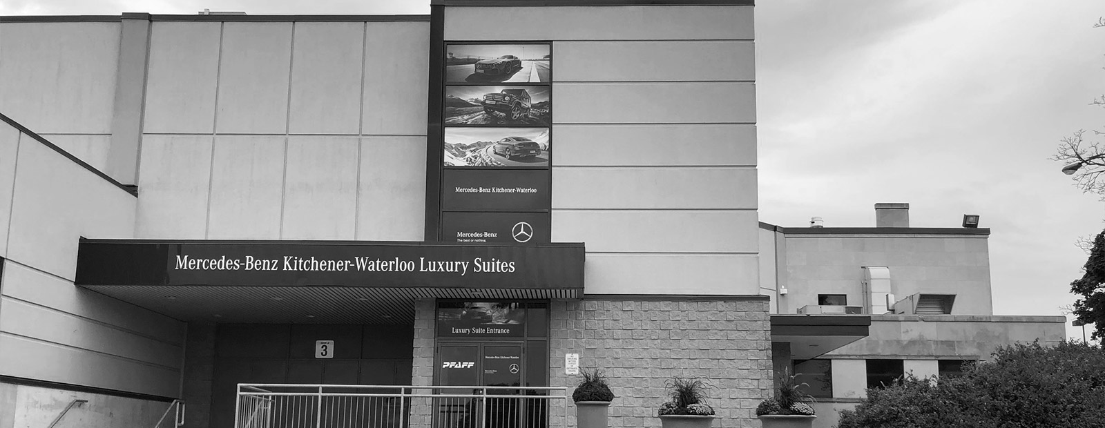 Mercedes-Benz Kitchener Waterloo Luxury Suites at The Aud