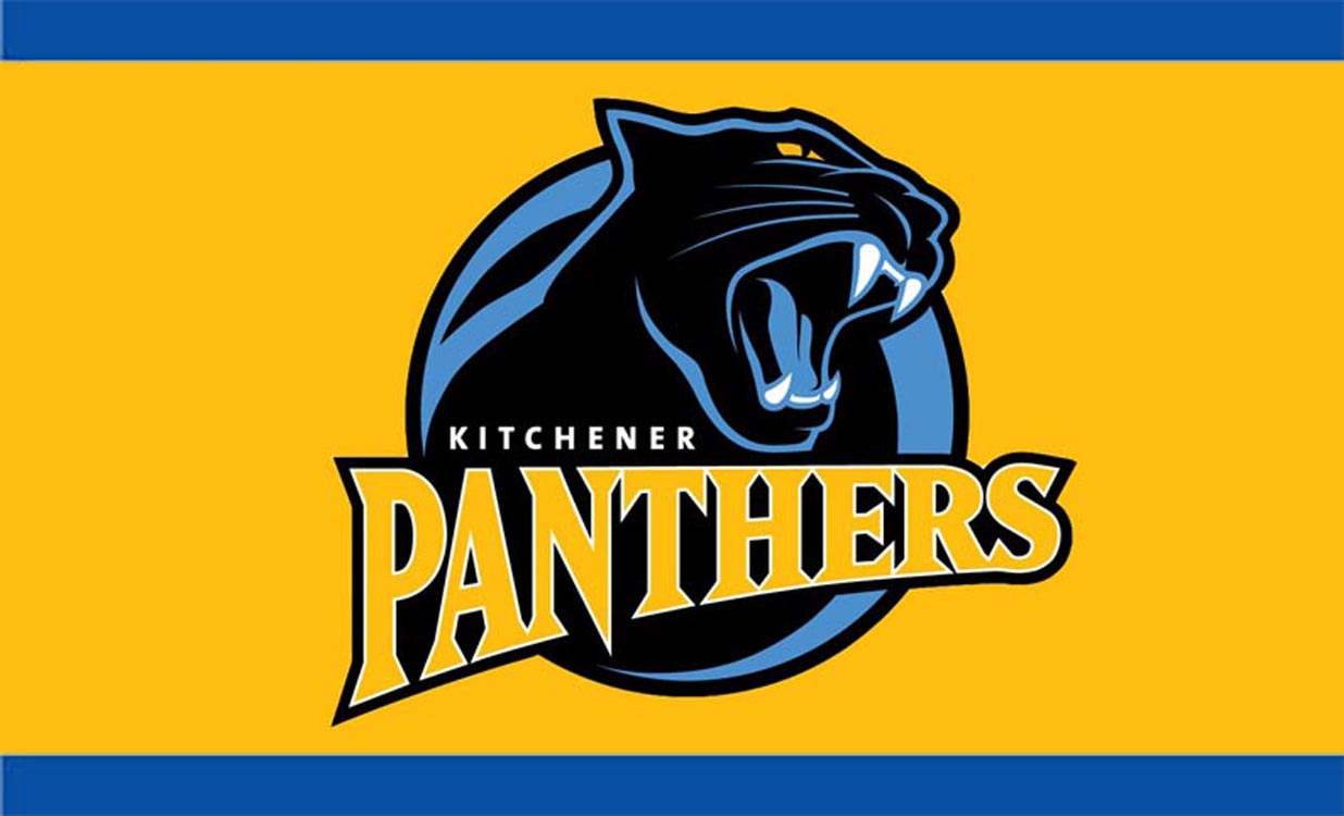Logo for the Kitchener Panthers