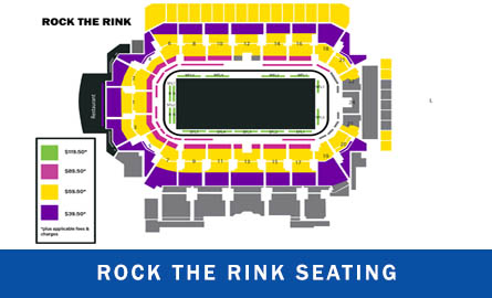 Seating chart for Rock The Rink