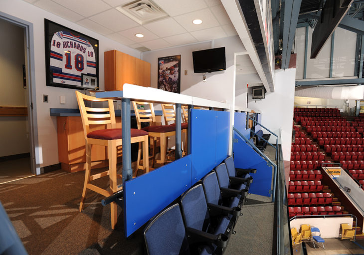 Luxury Suite Box at The Aud